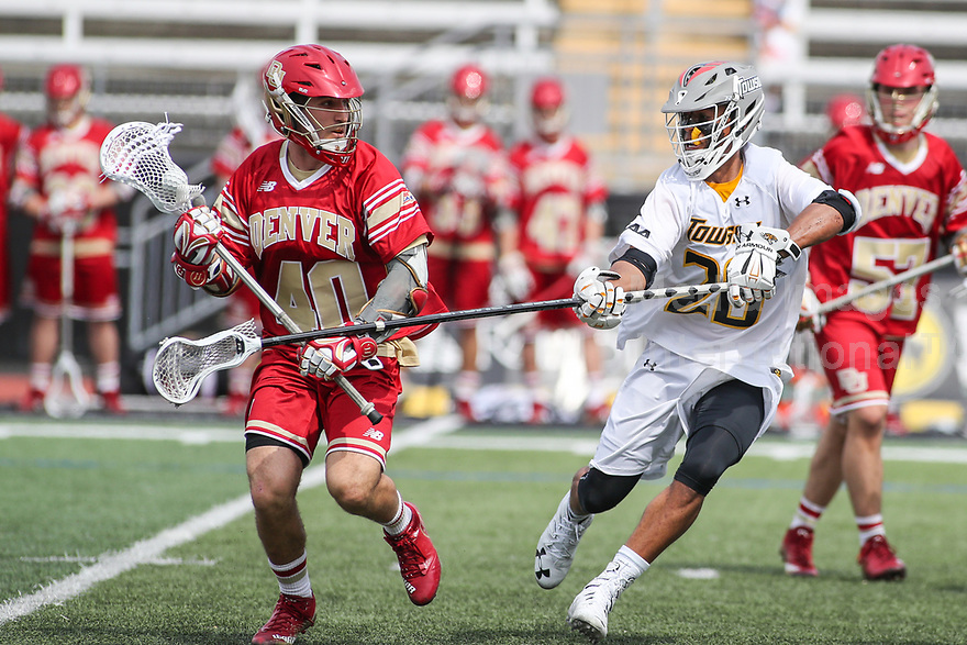 NCAA LACROSSE: Denver at Towson