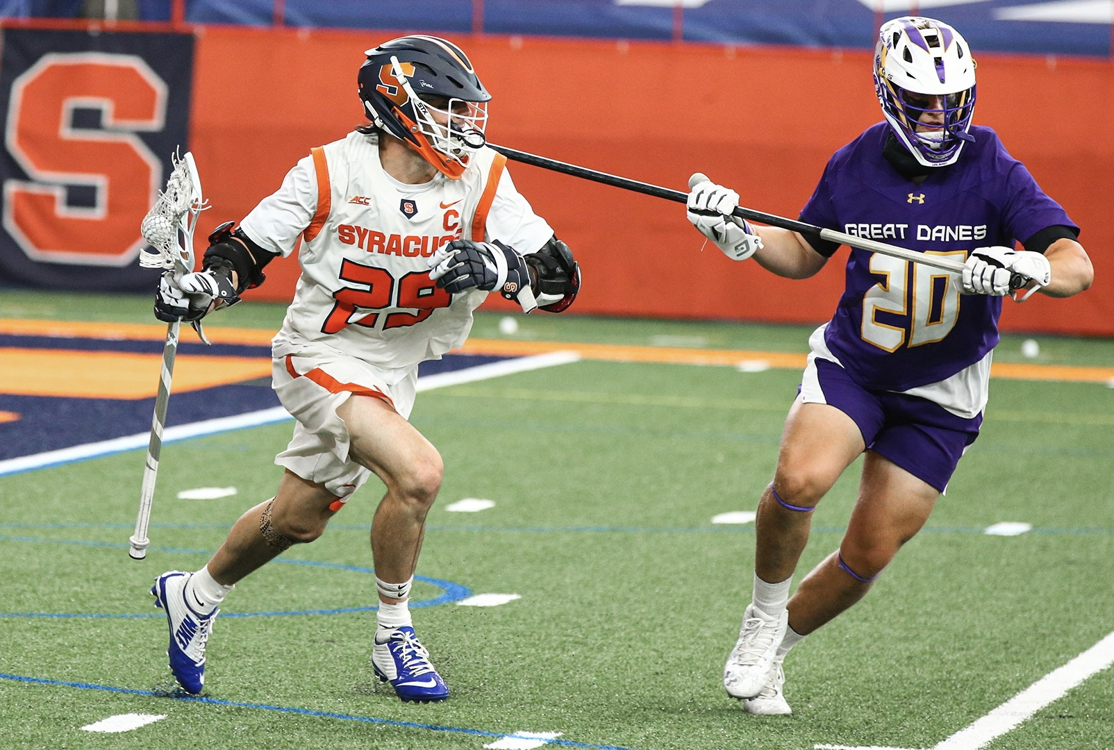 Syracuse Best UAlbany in Thursday Empire State Battle