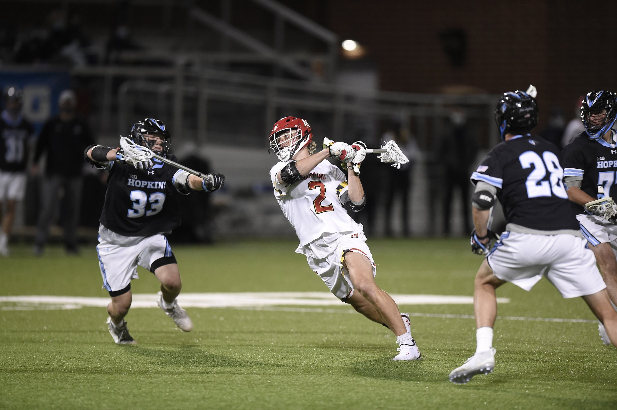 Maryland Avoids Upset, Tops Johns Hopkins to Claim Big Ten Title
